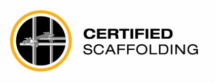 Certified Scaffolding