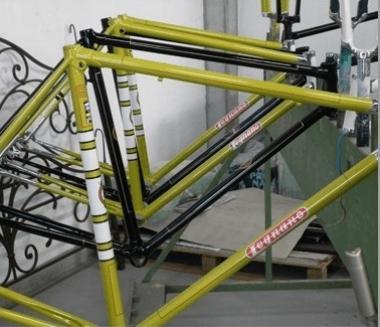 vernici metallizzate bici