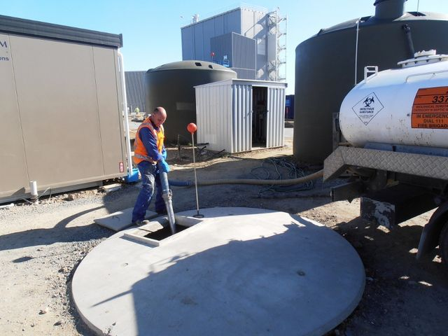 Craig performing septic tank cleaning in South Otago