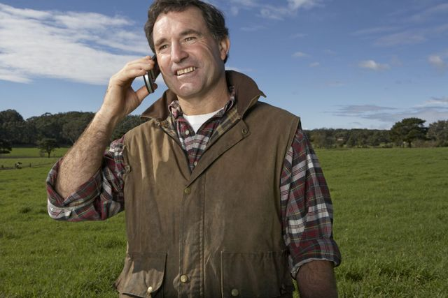 Man calling septic tank installation in South Otago