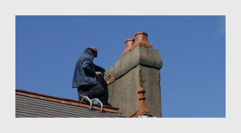 Professional chimney sweeping
