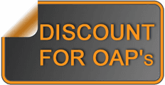 Discount for OAP's