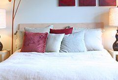 Cleaning bed linen