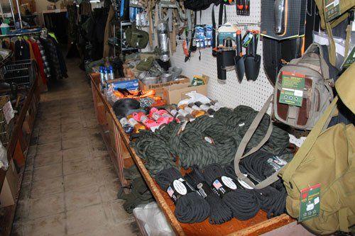 ff6603a59a Army surplus store gear in El Cajon, CA