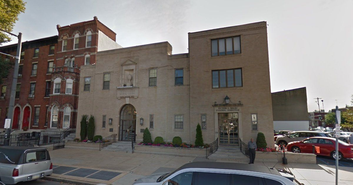 Pennsylvania Burial Company Baldi Funeral Home Philadelphia Pa