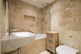 Attractive bathrooms