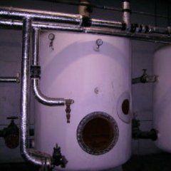 Asbestos machine