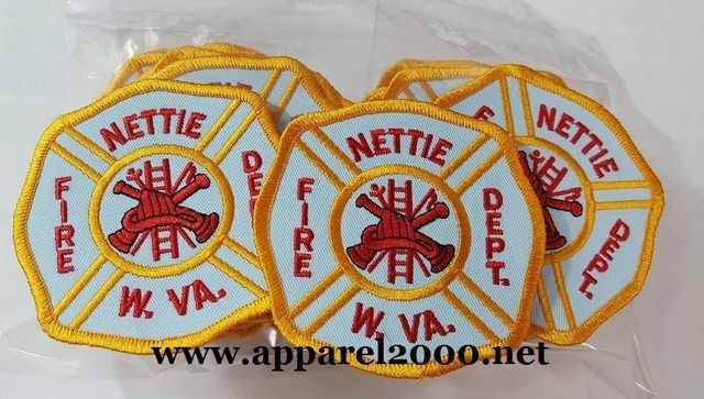 Nettie WV Fire Department Patch
