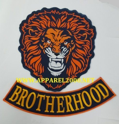 Large custom tiger patch
