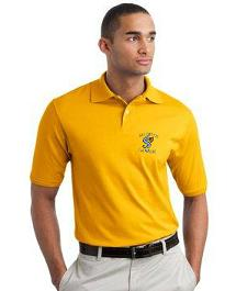 Polos shirts with embroidered school logo