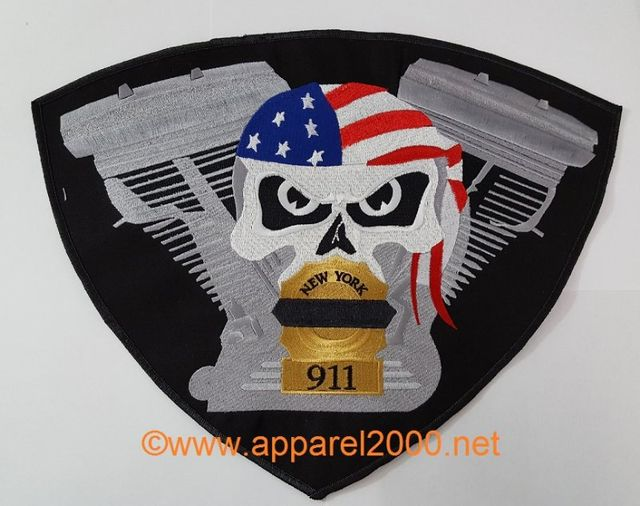 Iron Justice MC patches