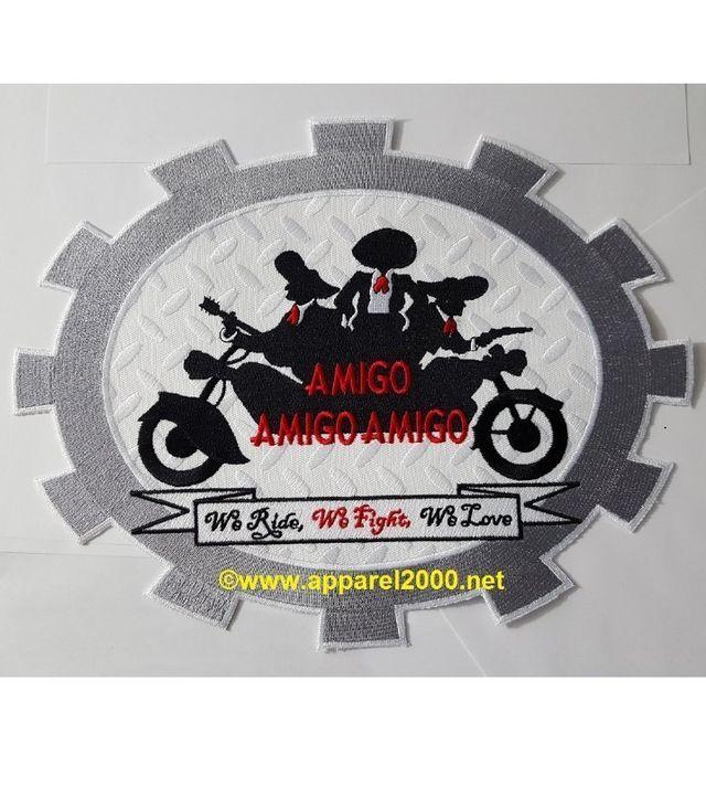 biker patch shapes
