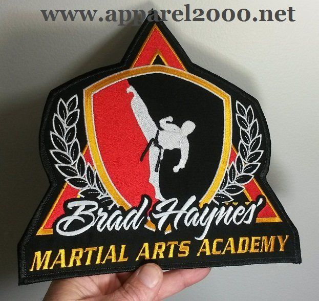 Martial Arts Academy Patches