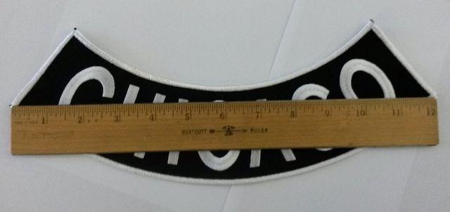 Rocker patch measurements