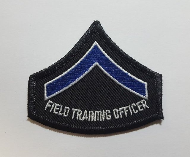Police Chevron Patch