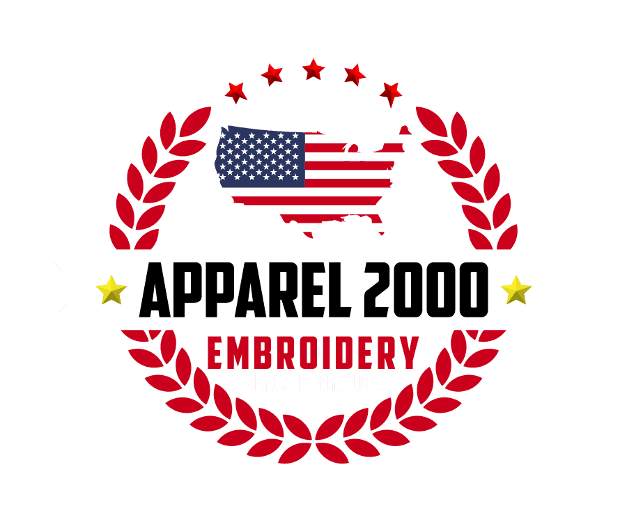 Custom Embroidery Made In Usa Patches Apparel 2000