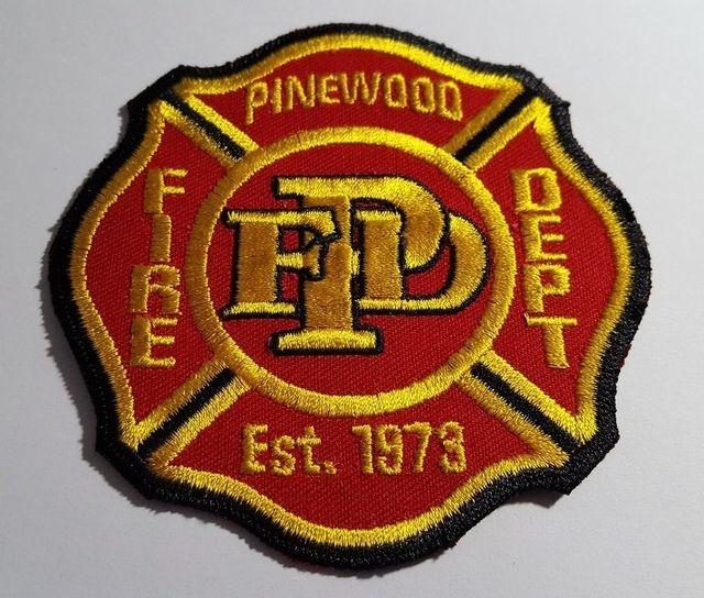 Pinewood Arizona Fire Department Patch