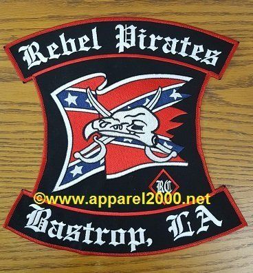 Skull and cross patches