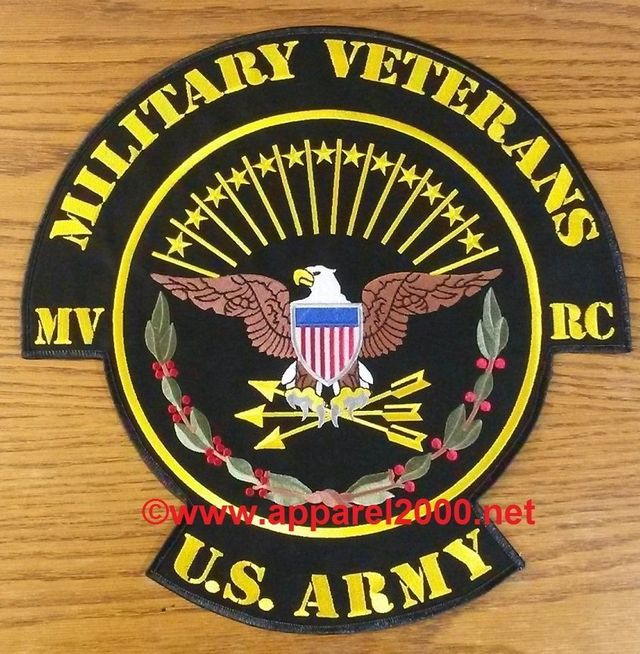 Military Veterans MC Patches