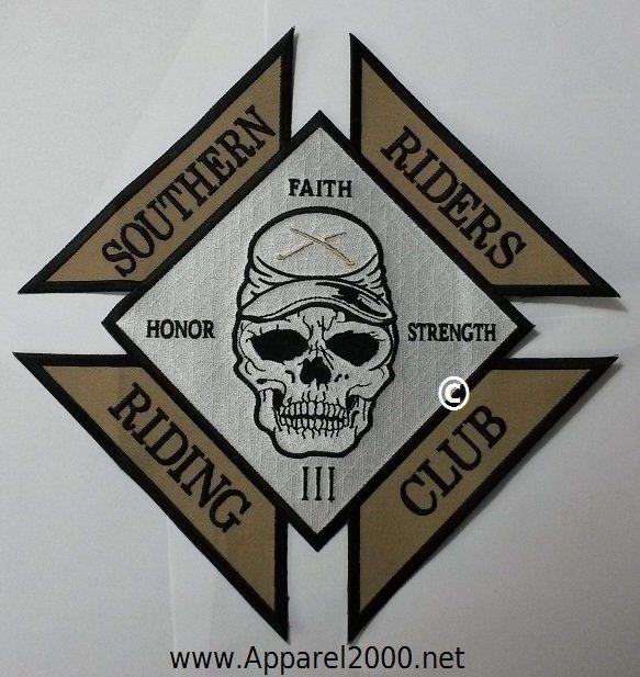Riding club patch