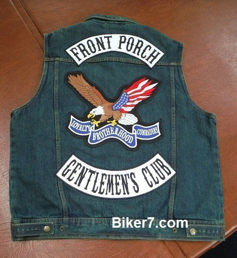 Patches for vests