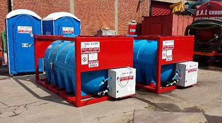 Fresh water tank hire
