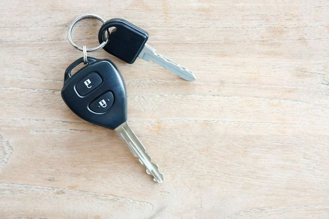 set of car keys