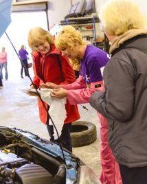 motoring club for women