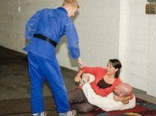 Self-defence demonstrations