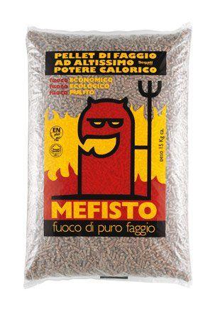 Pellet Mefisto, Vendita pellet Viterbo, Pellet puro faggio