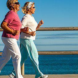 Walking ladies