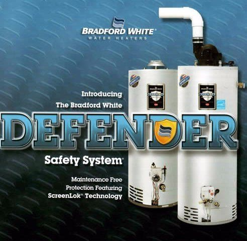 Bradford White's Defender safety system for water heaters