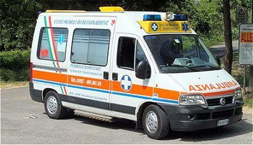Ambulanza di Classe A Fiat Ducato