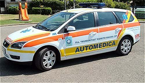 Automedica per i servizi Secondari e Trasporto Plasma