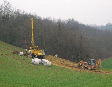 scavi e trivellazione pozzi