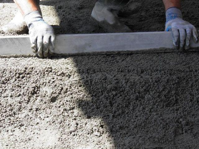 Massetti di sabbia e cemento Bergamo