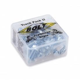 Bolt hardware Euro style track pack fastener kit