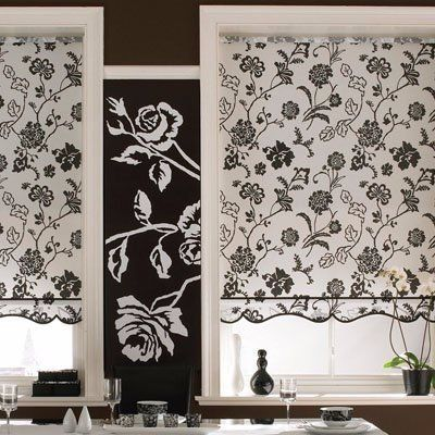 Floral blinds