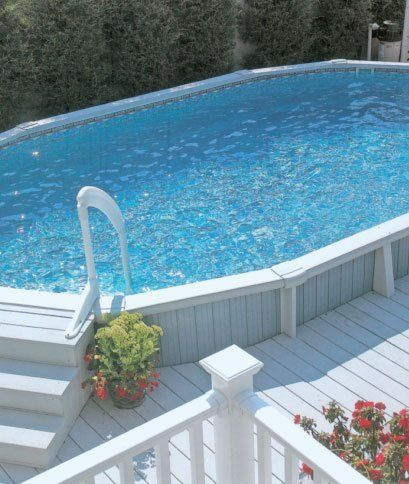 Above Ground Pools Above Ground Pool Installation In
