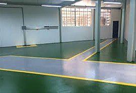 Epoxy resin floor coatings