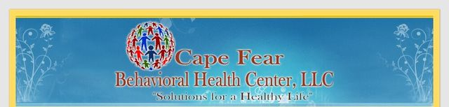 Welcome To Cape Fear Behavioral Health Center Llc Providing Mental