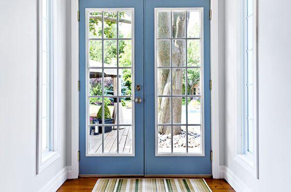 Residential glass door