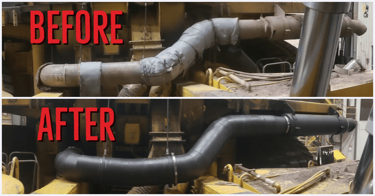 Mammoth Equipment | Dual Wall Exhaust for Mining Equipment