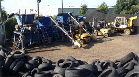 Professional tyre collection