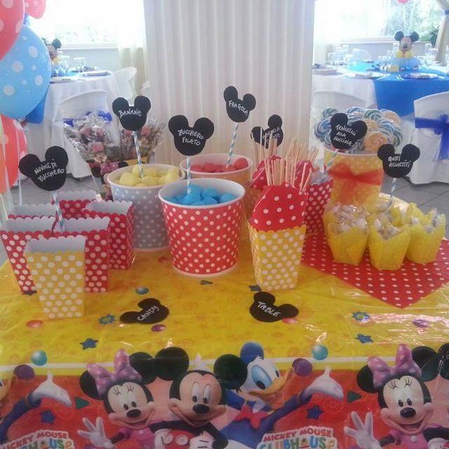 Bambini festeggiando il compleanno a Bari