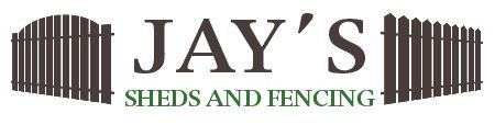 JAY'S SHEDS AND FENCING logo