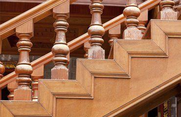 straight flight of stairs
