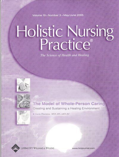 Holistic Nursing Practice Mag Cover
