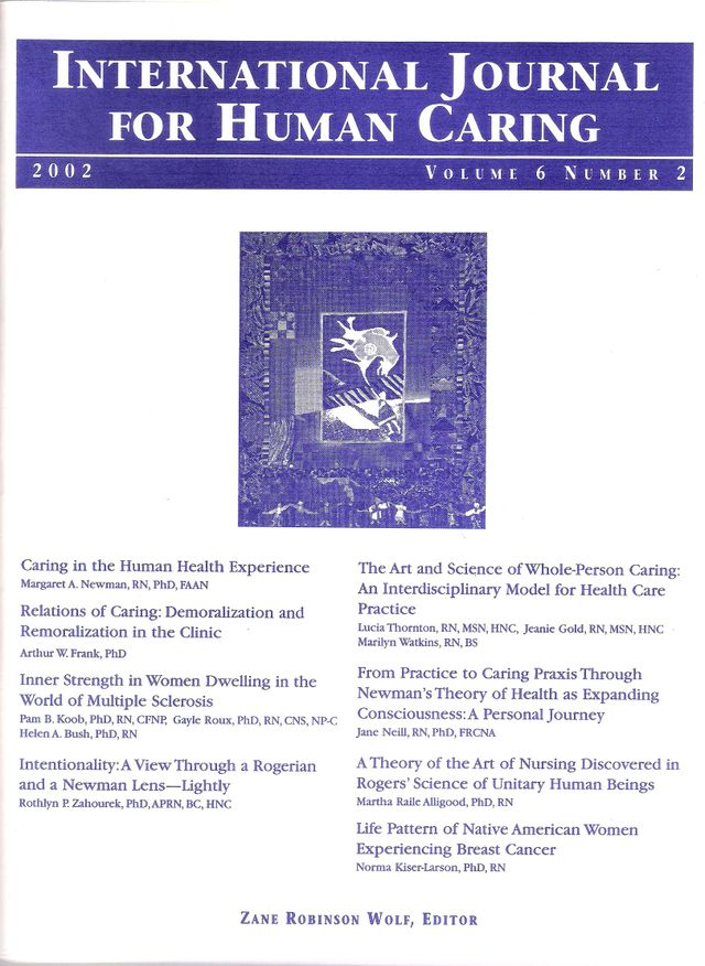 The Art and Science of Whole-Person Caring Cover