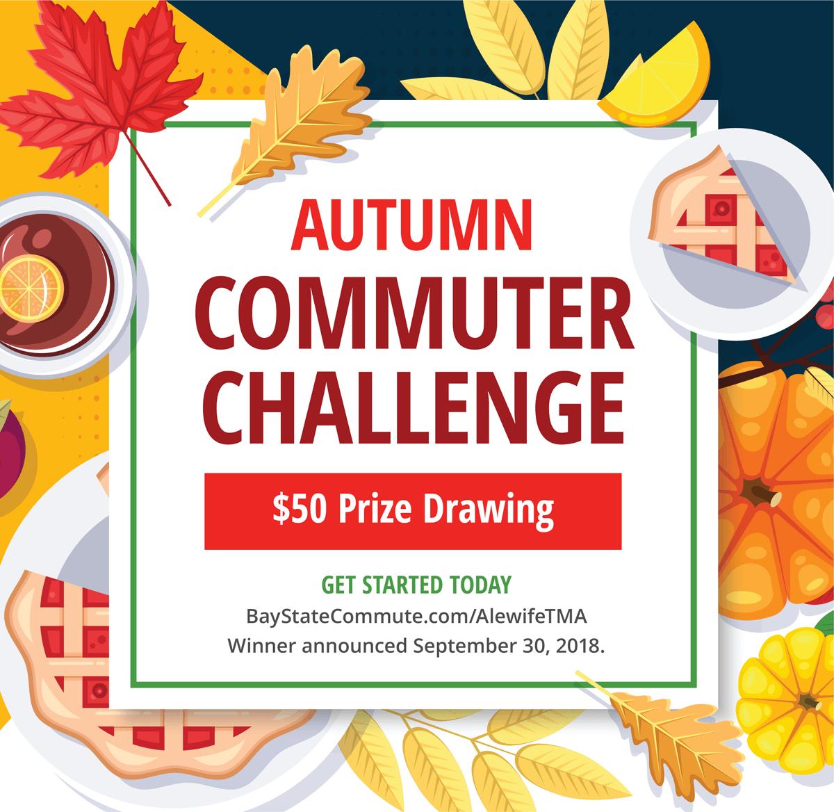 September Commuter Challenge 50 Prize Drawing